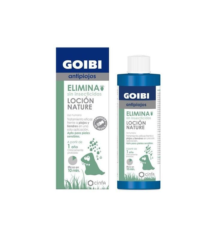 Goibi Antipiojos Locion Nature 200 ml