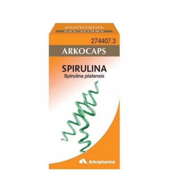 COMPLEMENTOS ALIMENTICIOS - Arkocapsulas Spirulina 50 Cápsulas -