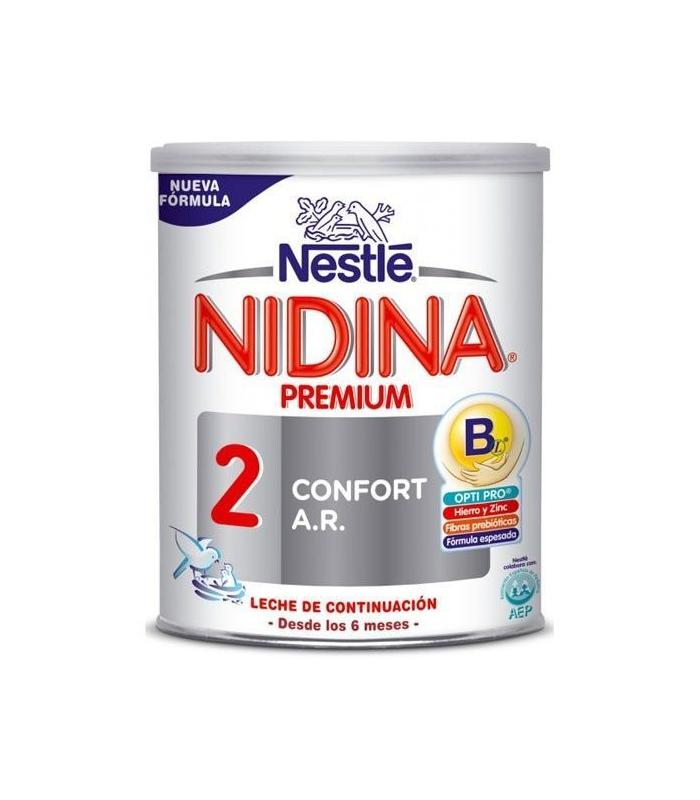 LECHES INFANTILES - Nidina 2 Confort 2 Ar 800 Gramos -
