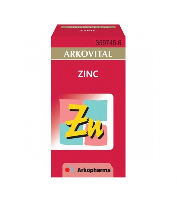 NUTRICOSMÉTICA - Arkovital Zinc 50 Capsulas -