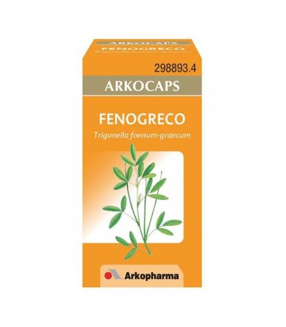 SUPLEMENTOS ALIMENTICIOS DE FARMACIA - Arkocapsulas Fenogreco 50 Cápsulas -