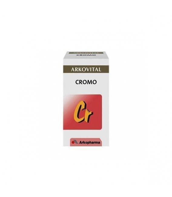 PRODUCTOS DE HERBOLARIO ONLINE - Arkovital Cromo 45 Cápsulas -