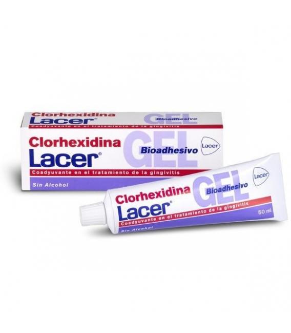 DENTAL - Lacer Gel Dental Bioadhesivo Clorhexidina -