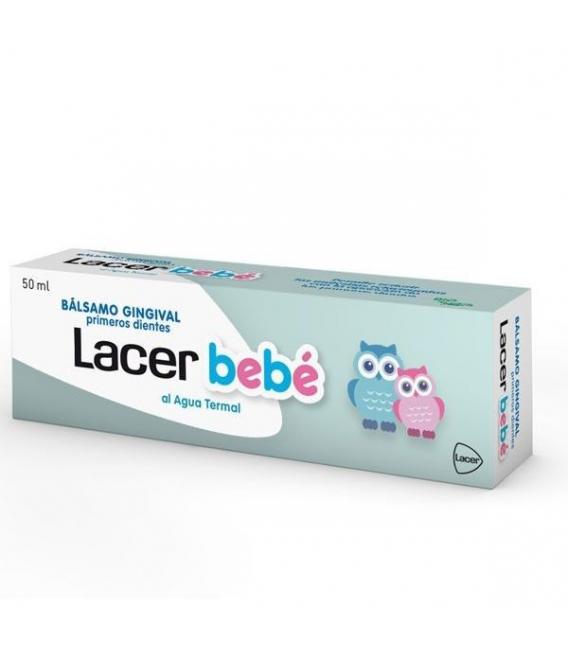 REGALOS PARA BEBÉS Y EMBARAZADAS - Lacer Bebe Balsamo Gingival Primeros Dientes 50 ml -