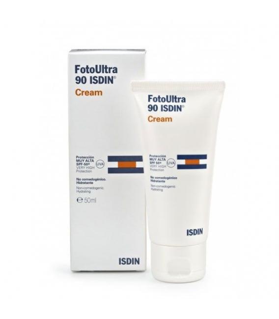 PROTECCIÓN CORPORAL - Isdin Fotoprotector Ultra 90 Cream 50 ml -