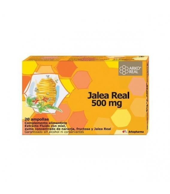 ANTIFATIGA - Arkoreal Jalea Real Fresca 500 mg 20 ampollas -