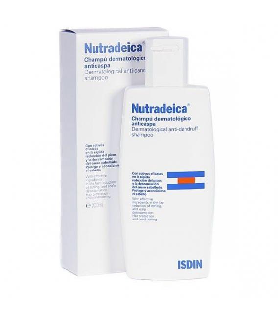 CHAMPÚS ESPECIALES - Isdin Nutradeica Champú Dermatologico 200 ml -