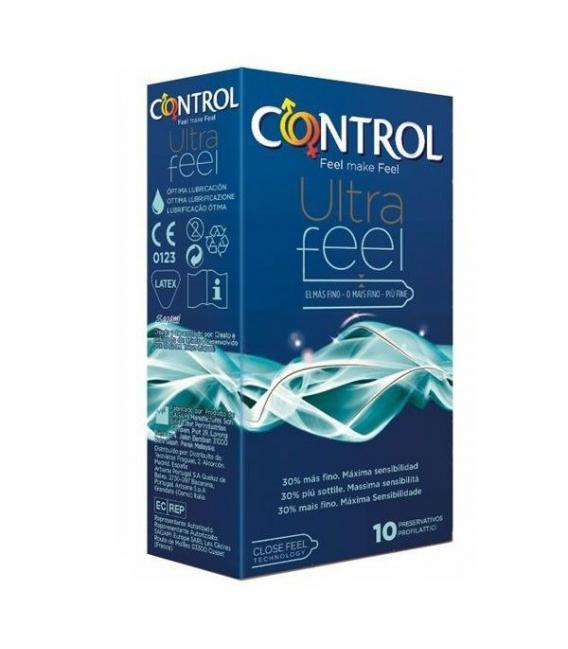 ANTICONCEPTIVOS - Control Ultrafeel 10 Preservativos -
