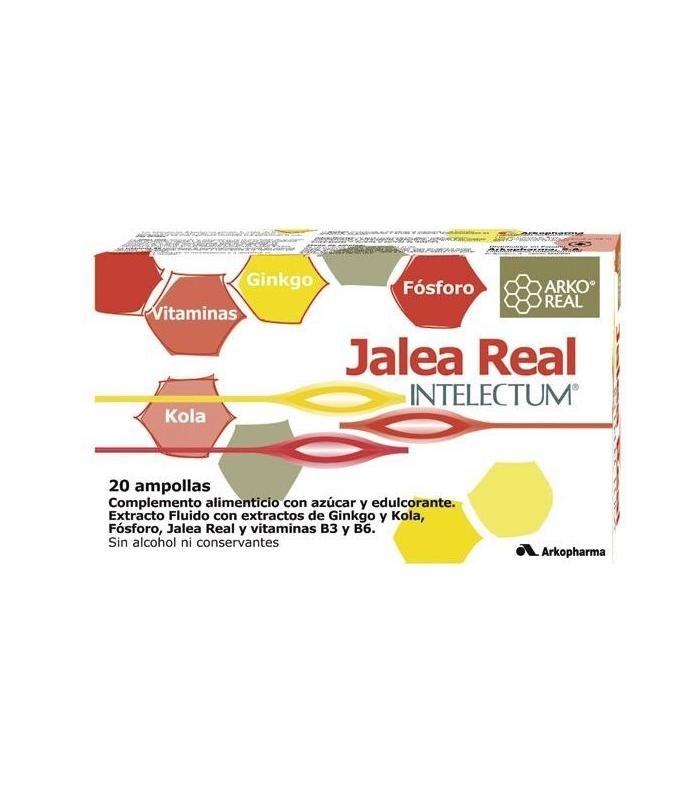 Arkoreal Jalea Real Intelectum Con Fosforo 20 Ampollas