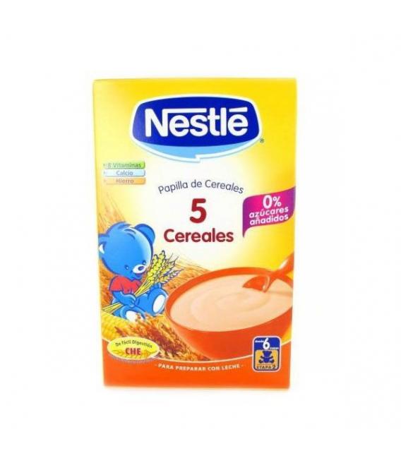 PAPILLAS - Nestle 5 Cereales 600 Gramos -