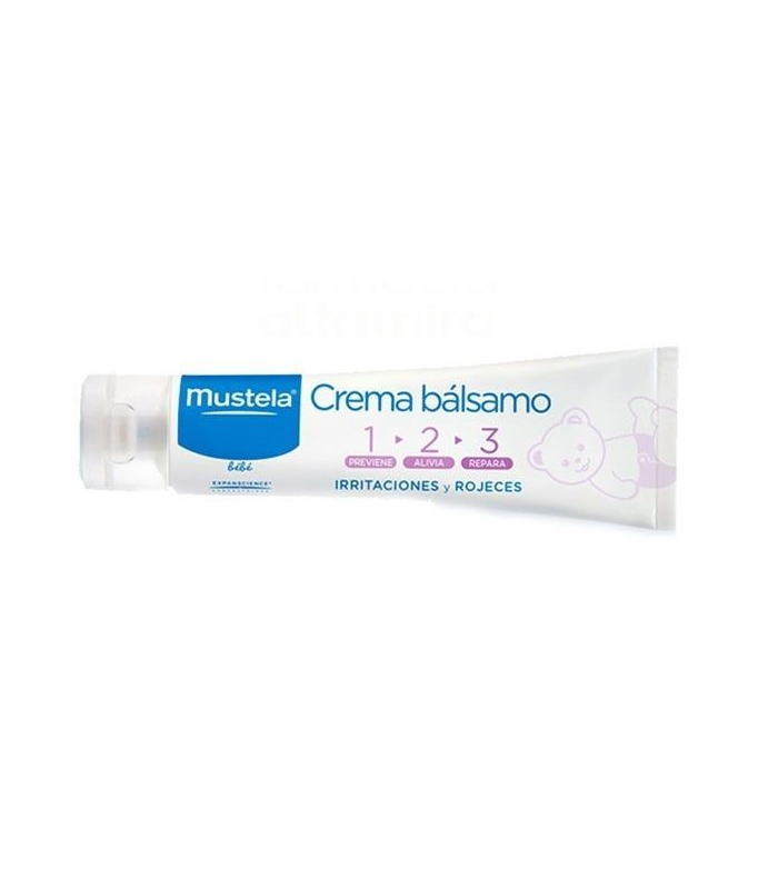 CULITO DEL BEBÉ - Mustela Crema Balsamo 100 Ml -