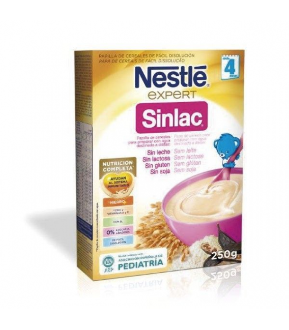 PAPILLAS - Nestle Sinlac Papilla 250 Miligramos -