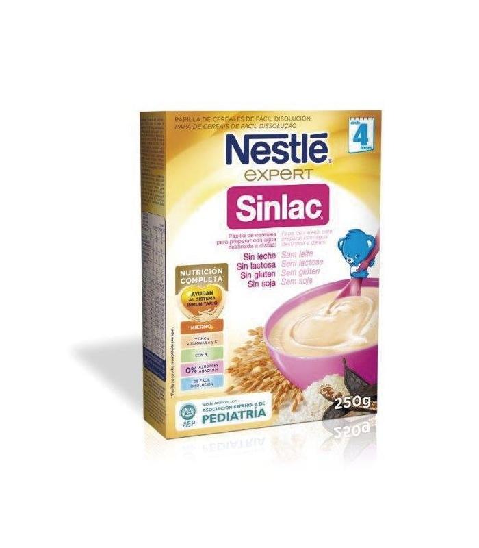 Nestle Sinlac Papilla 250 Miligramos