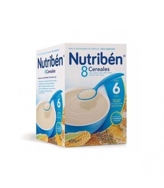 PAPILLAS - Nutriben 8 Cereales 600 Gramos -