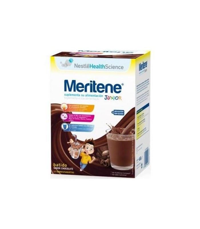 INFANTIL - Meritene Junior Chocolate 15 Sobres -