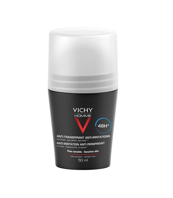 DESODORANTES - Vichy Desodorante Piel Sensible Roll On 50 ml -