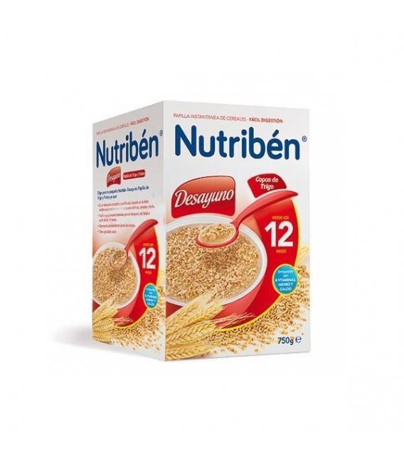 PAPILLAS - Nutriben Desayuno Copos De Trigo 750 Gramos -