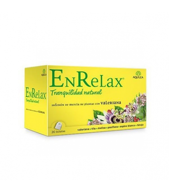 INFUSIONES - Enrelax Valeriana 20 Sobres -