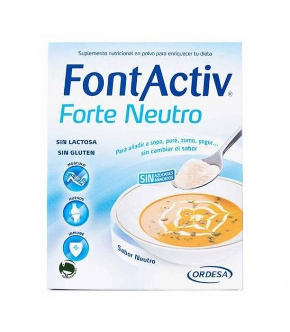 COMPLEMENTOS ALIMENTICIOS - FontActiv Forte Neutro 30g 10 Sobres -