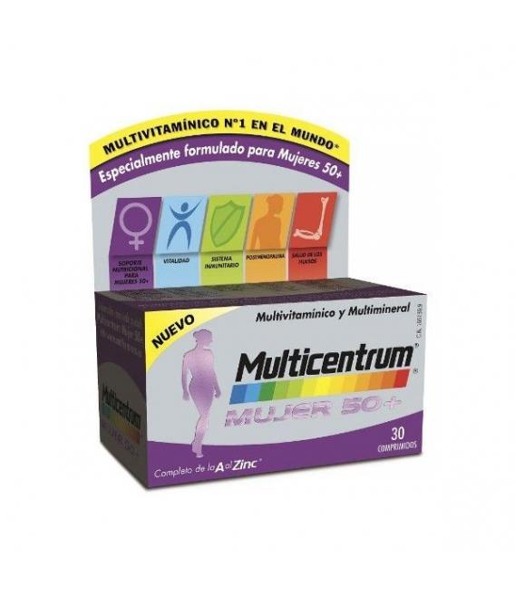 VITAMINAS - Multicentrum Mujer 50+ 30 comprimidos -