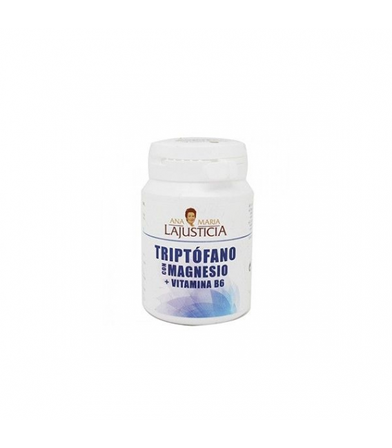 VITAMINAS - Triptófano Magnesio Vitamina B6 60 Comp. -