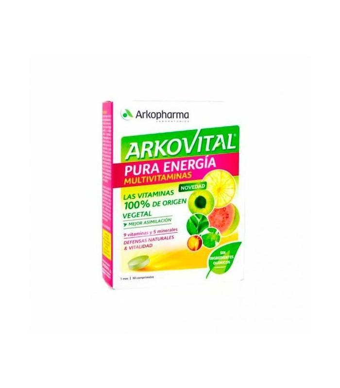 ANTIFATIGA - Arkovital Pura Energia 30 Comprimidos -