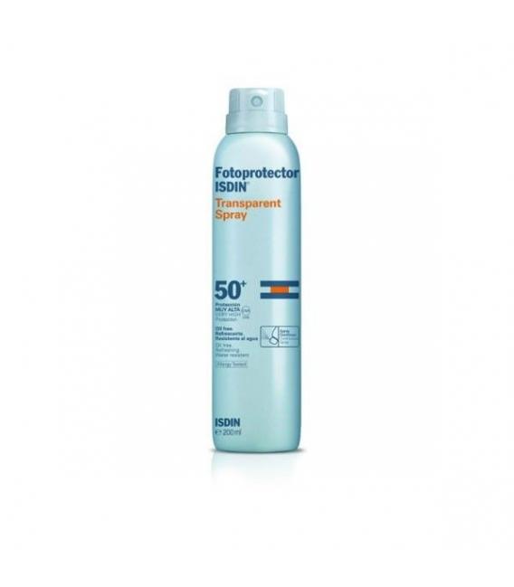PROTECCIÓN CORPORAL - Isdin Fotoprotector Transparente Spray SPF50+ 200 ml -
