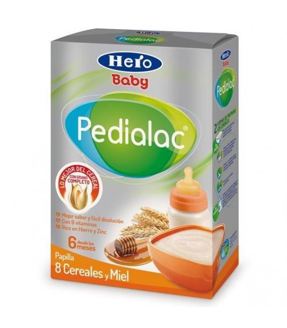 ALIMENTACIÓN - Hero Pedialac 8 Cereales Y Miel 500 g -