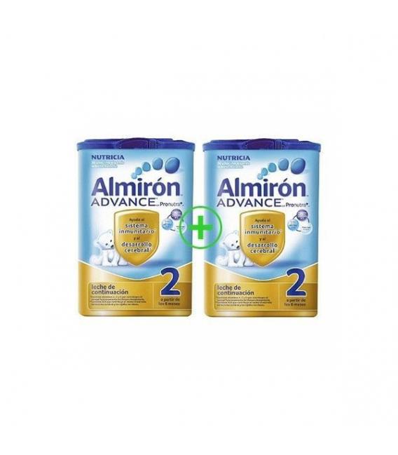 LECHES INFANTILES - Almirón Advance 2 Duplo 2x800g -