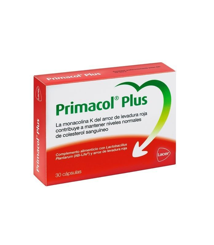 COMPLEMENTOS ALIMENTICIOS - Primacol Plus 30 Capsulas -
