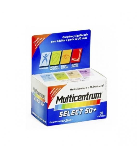 VITAMINAS - Multicentrum Select 50+ 30 comprimidos -