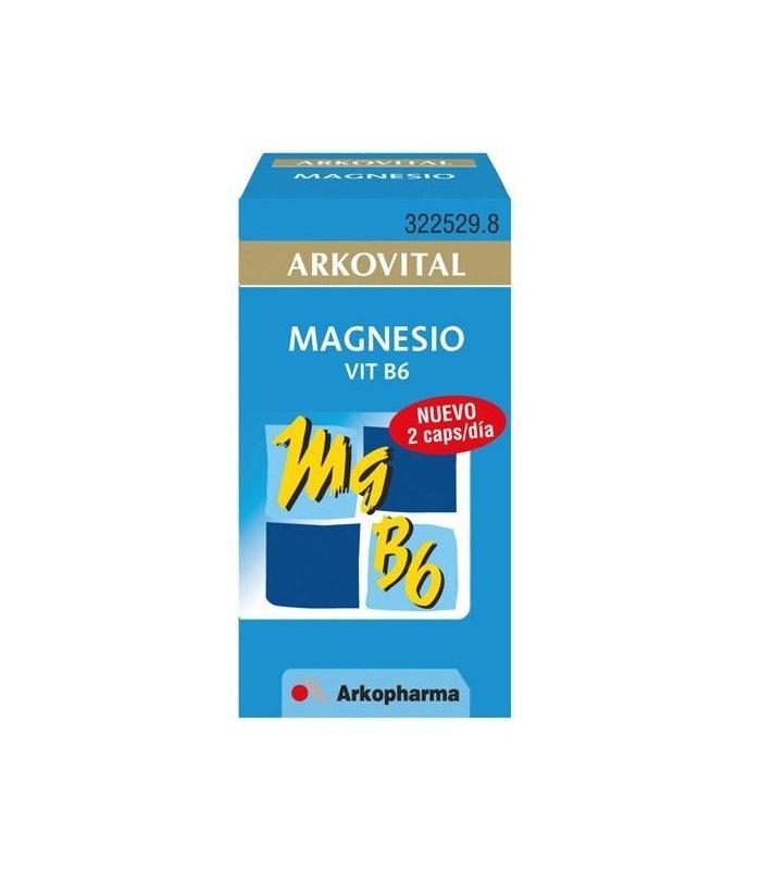 VITAMINAS - Arkovital Magnesio + B6 30 Capsulas -