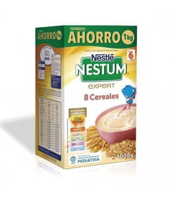 PAPILLAS - Nestle Nestum Expert 8 Cereales 1 Kg -
