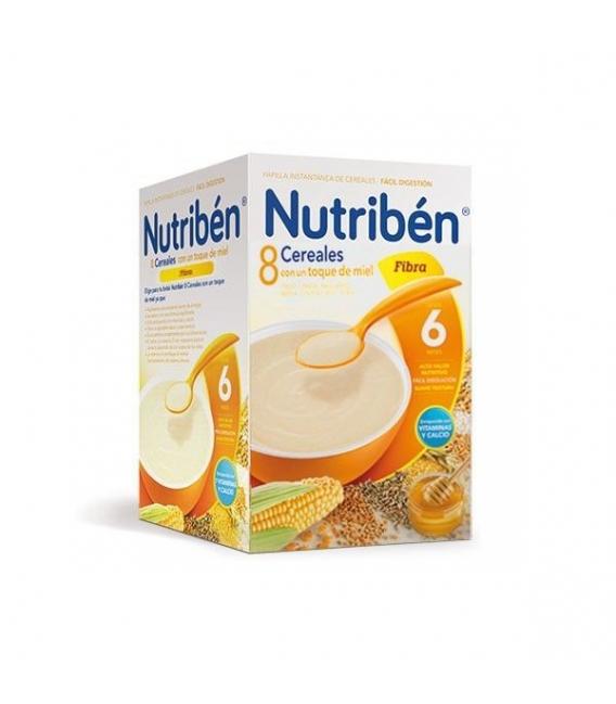 PAPILLAS - Nutriben 8 Cereales Con Miel y Fibra 600 Gramos -