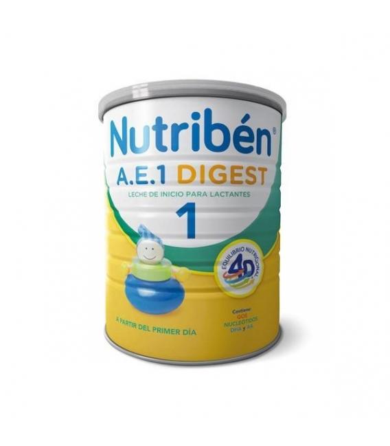 LECHES INFANTILES - Nutriben AE 1 Digest 800 Gramos -
