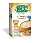 Nestle Nestum Expert 8 Cereales Con Galleta Y Bifidus +6M 600 Gramos