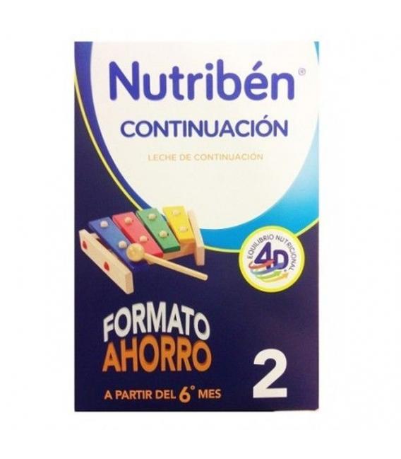 LECHES INFANTILES - Nutriben Continuación Formato Ahorro 1200 gr -