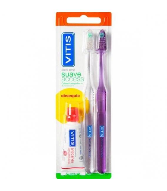 DENTAL - Vitis Cepillo Dental Adulto Access 2 uds -