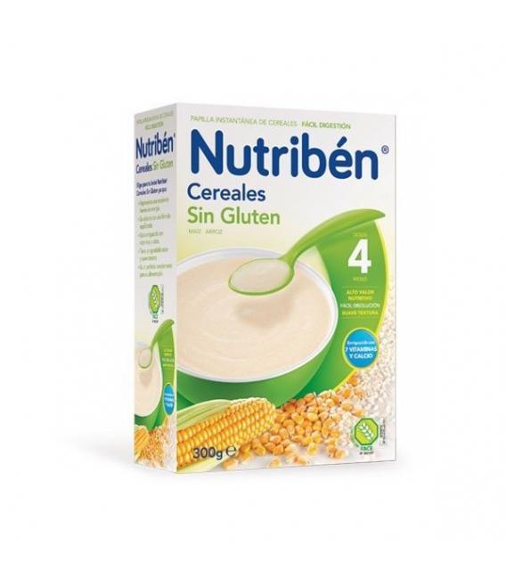 PAPILLAS - Nutriben Cereales Sin Gluten 300 Gramos -
