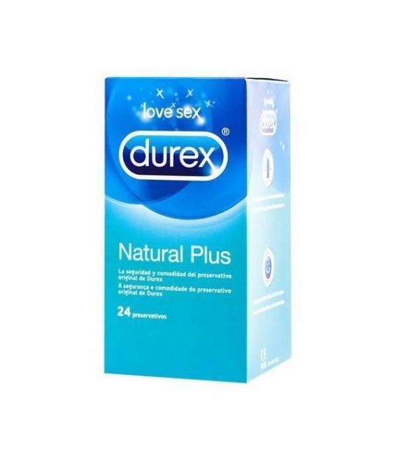ANTICONCEPTIVOS - Durex Natural Plus Easy On 24 Preservativos -