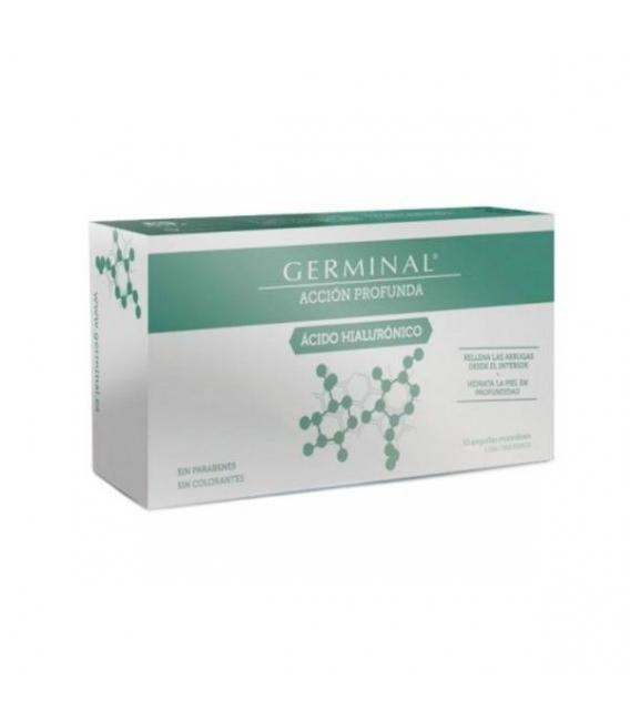 ANTIARRUGAS - Germinal Accion Profunda Acido Hialunorico 30 Ampollas -