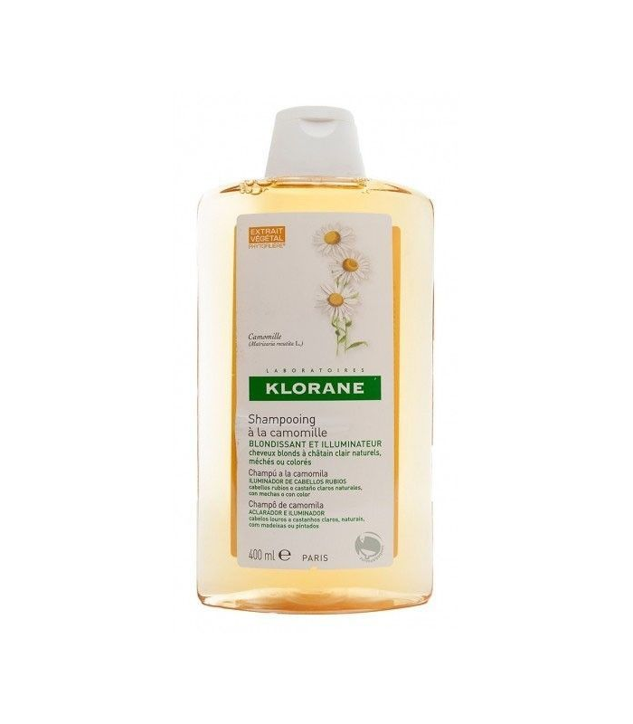 CHAMPÚ - Klorane Champu Reflejos Dorados Extracto Camomila 400 ML -