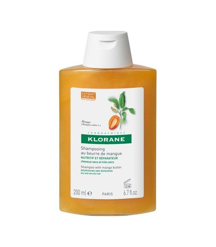 CHAMPÚ - Klorane Champú Nutritivo A La Manteca De Mango 400 ML -