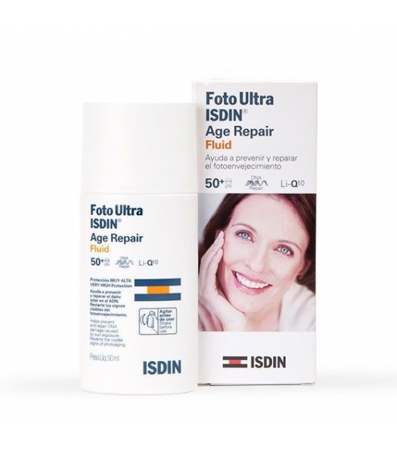 PROTECTORES - Isdin Fotoultra Age Repair Fluid SPF50+ 50 ml -