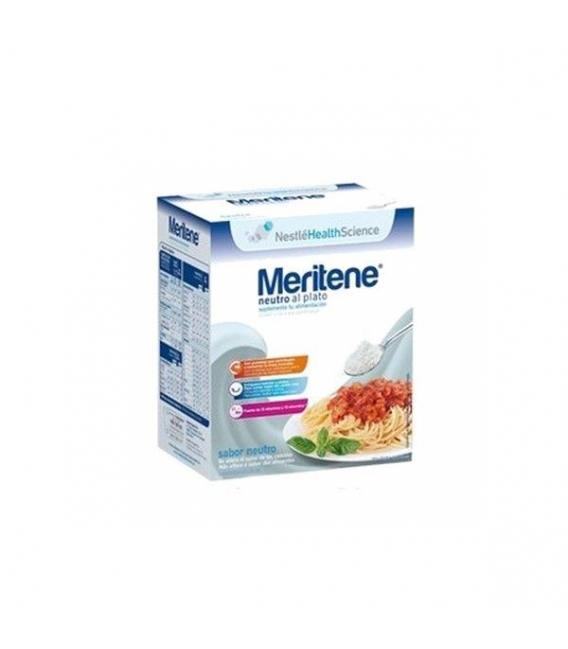 SUPLEMENTOS ALIMENTICIOS DE FARMACIA - Meritene Neutro al Plato 7 sobres de 50 g -