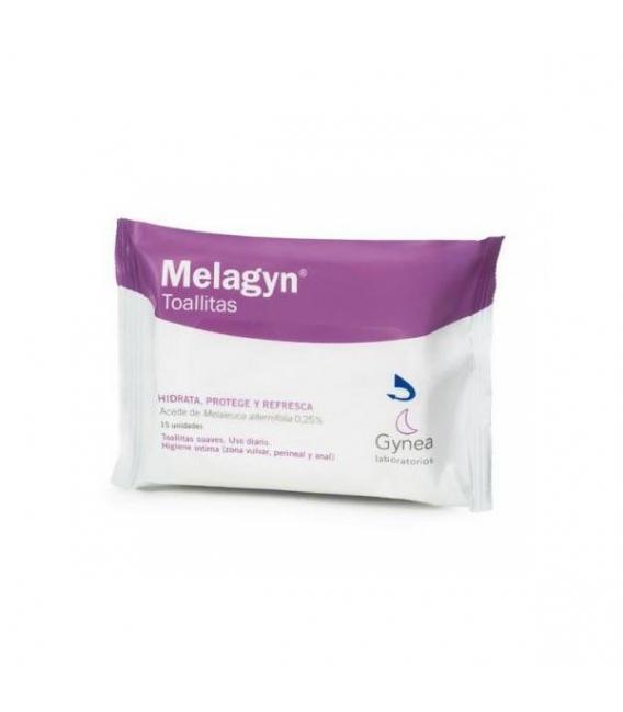 HIGIENE ÍNTIMA - Melagyn Flow Pack 15 Toallitas -