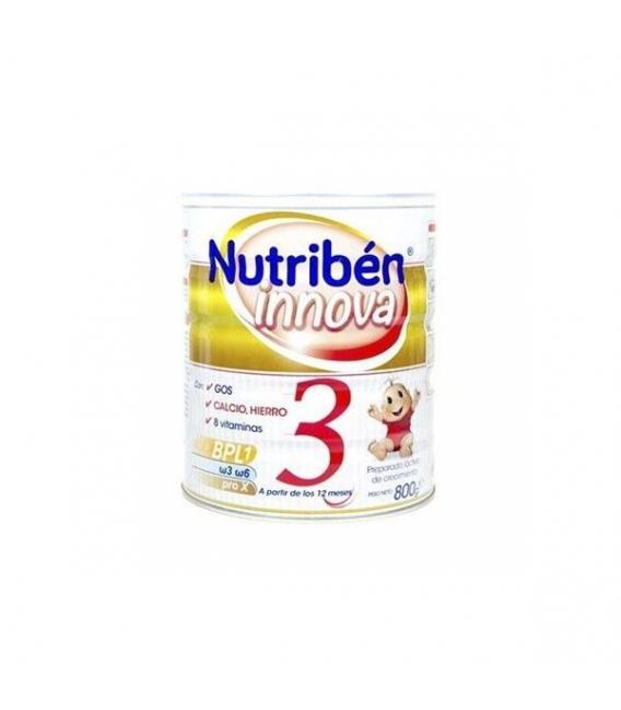 LECHES INFANTILES - Nutribén Innova 3 800 gr -
