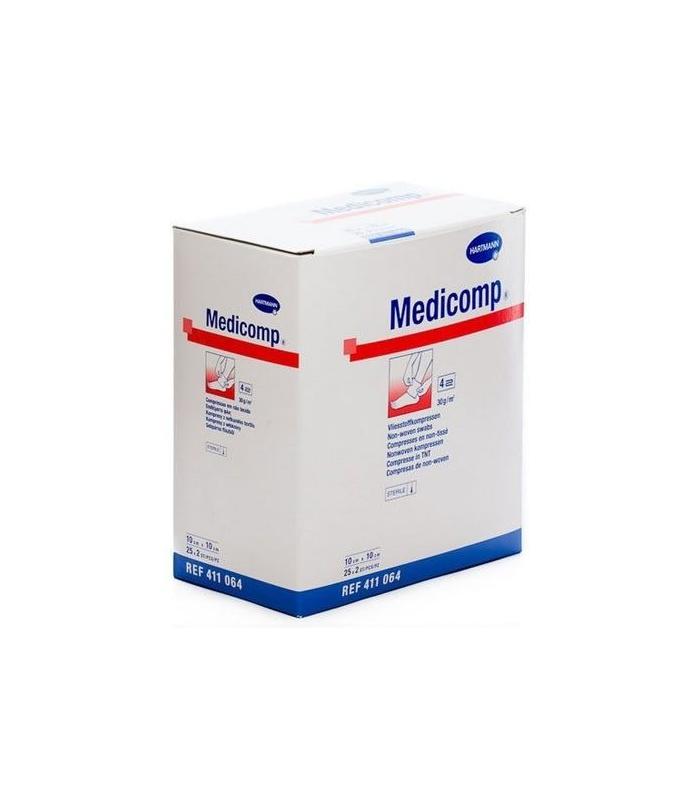 BOTIQUÍN - Hartmann Medicomp Compresas Non Woven 50 Uds -