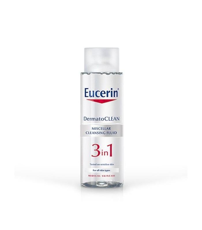 Eucerin Dermatoclean 3en1 Solución Micelar Limpiadora 400mll