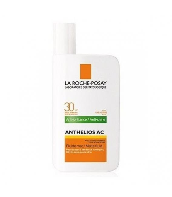 PROTECCIÓN FACIAL - La Roche Posay Anthelios AC Antibrillos Fluido Spf 30 50ml -